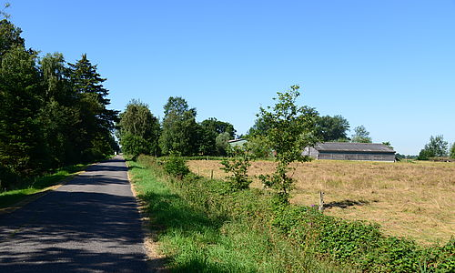 Straße in Tackesdorf